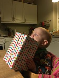 Uhm en lækker gave!